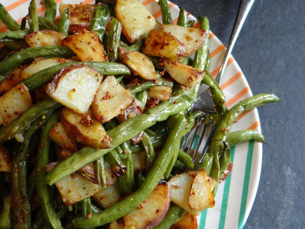 Recipe for Green Bean and Potato Salad.