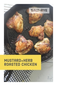 Mustard Herb Roasted Chicken on Pinterest