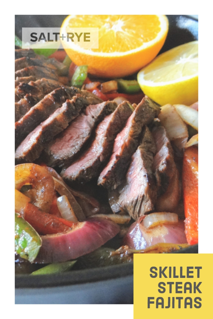 Skillet Steak Fajitas on Pinterest